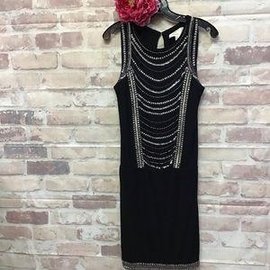 Nicole Miller Artelier Blk Summer Dress Small